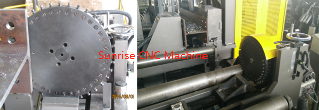 marking of beam drilling machine