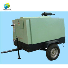 Diesel Portable Screw Air Compressor For Drilling Rig