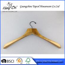 Simple estilo buena calidad percha madera de lujo