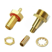 oem brass parts precision machining high speed milling turning