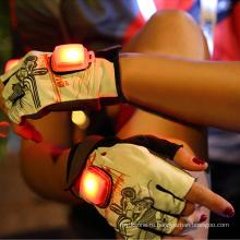 ProCircle пользовательские тренажерный зал защитный светодиодной вспышкой Велоспорт перчатки