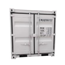 Mini contenedor de acero de 5 pies 6 pies 7 pies 8 pies 9 pies