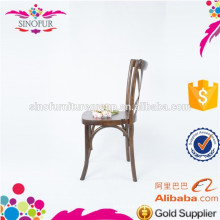 wholesale price wooden cross back dining chair