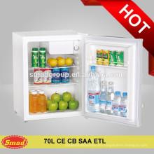 Hotel o uso doméstico mini bar compresor portátil refrigerador