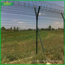 Clôture de sécurité de l'aéroport clôture métallique pour la maison Cour