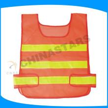Cinta reflectante prismática aprobada para el uniforme de seguridad