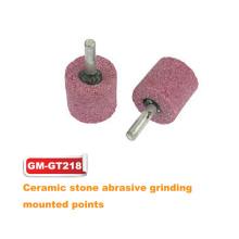 Pontos de esmerilhamento abrasivo de pedra cerâmica