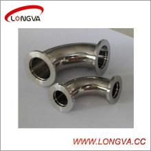 Codo con abrazadera de vacío de acero inoxidable Wenzhou