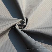 Water & Wind-Resistant Outdoor Sportswear Down Jacket Woven Plaid & DOT Jacquard 100% Nylon Fabric (N044)