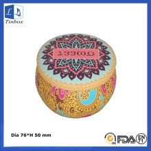 Decorativas Candle Gift Tin Boxes al por mayor