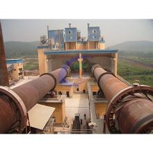 Forno rotativo para incineração de resíduos competitivos