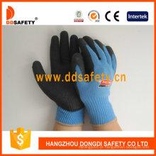 10 calibre de luvas de segurança de revestimento de látex de malha Dkl325