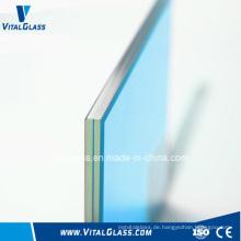 Mattierte Dekoration Balustrade Glas / Dusche Doppelverglasung Glas / Hohlglas