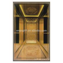 China fornecedor de elevador de passageiros de luxo
