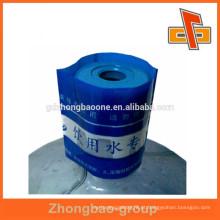 Etiqueta plástica do tampão de frasco do plástico 5 por grosso para a água mineral