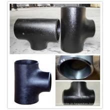 Baixo preço 45 graus padrão lateral reduzindo tubo de montagem de tee