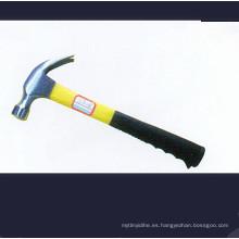 Martillo de garra de tipo americano con mango de fibra tubular