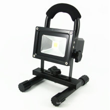 Reflector recargable al aire libre de la lámpara del punto 10W LED con el zócalo del USB