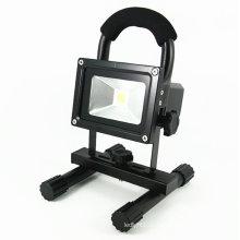 Напольный точечный Светильник прожектора СИД 10W Перезаряжаемые с USB-разъем