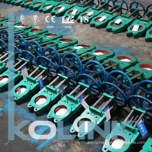 U Уплотнение Двунаправленный запорный клапан Задвижка с упругим седлом