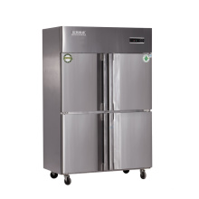 Four Doors Double Compressor Kitchen Refrigerator