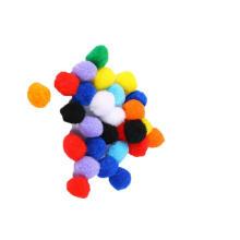 Factory sale Handcraft Assorted Color polypropylene PomPoms , High quality pompom for art