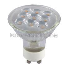 Реальная лампа с эффектом Spot для малого угла пучка 24 градуса
