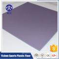 Esportes plástico durável pvc badminton piso esteira rolo