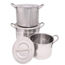 Нержавеющая сталь, Бытовая техника, Кухонная техника, Кухонная посуда, Горшок для продуктов, Посуда