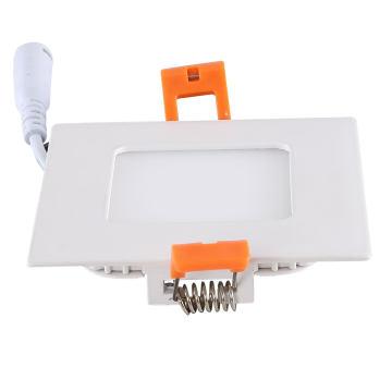 Panneau LED carré ultra silencieux 3W avec garantie de 3 ans