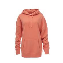 Wholesale High Quality Plain Casual Polyester Cotton Anti-Shrink Custom Women Hoodies Unisex