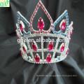 Kundenspezifische kariert tiara, hochzeitstiara und krone