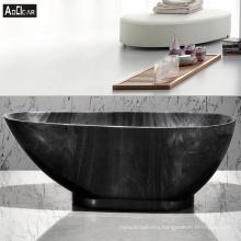 Aokeliya  acrylic japanese  very popular black freestanding bathtub
