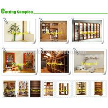 Big Woodworking Wood Book Shelf SG 2.0 * 3.0m Routeur CNC