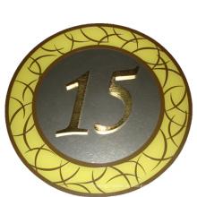 Wegweiser Signage Metall Schild Stock Nummer