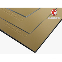 GLOBOND FR Fireproof Aluminium Composite Panel (PF-423 Champagne Metallic)