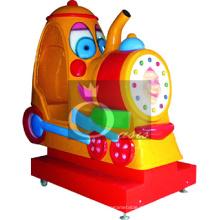 Paseo del kiddie, coche de los niños (tren de la historieta)