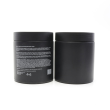 8oz 250ml frosted black face cream cosmetic container plastic pet jar plastic-40AN