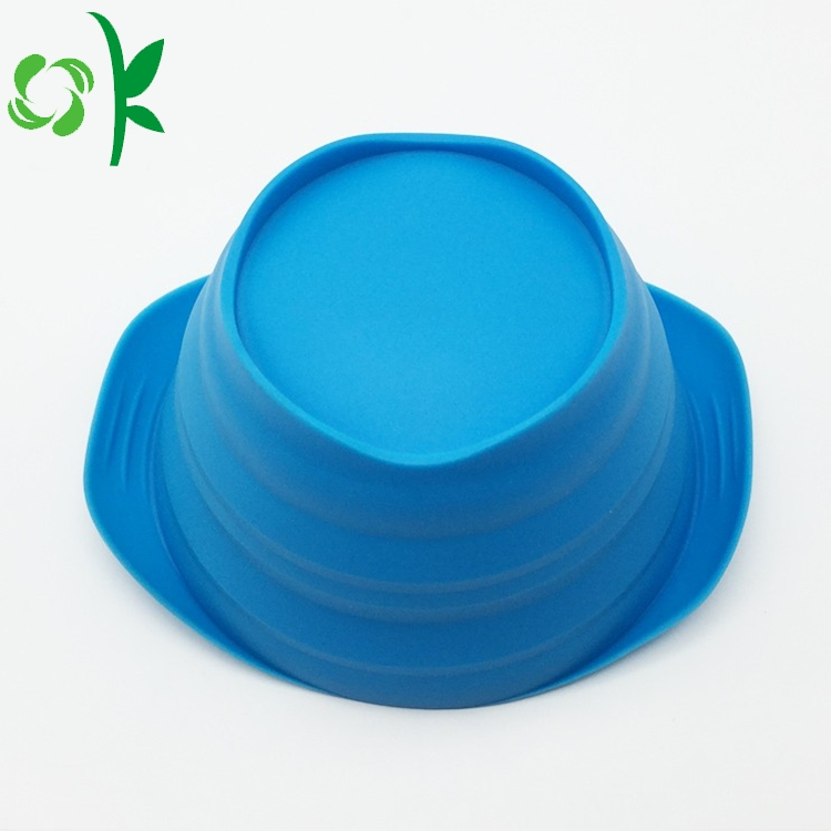 Blue Silicone Bowl