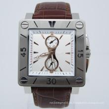 Caliente venta nuevo estilo de moda acero inoxidable reloj de pulsera (HL-CD006)