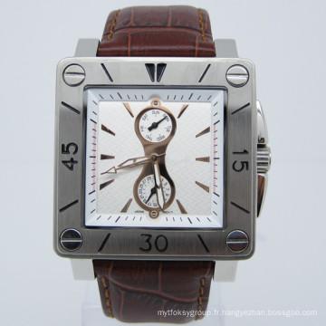 Montre à bracelet en acier inoxydable de style nouvelle mode à la mode (HL-CD006)
