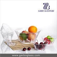 Ensemble de cuvette de verre ou de pain de cuisine en verre