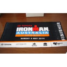 Toalla de playa impresa reactiva de tamaño completo 100% algodón Ironman