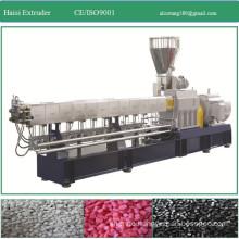 Granules Application and Double-screw Screw Design twin screw extruder machine