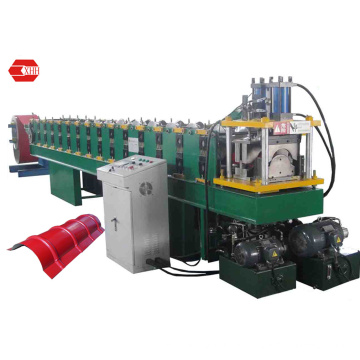 Color Steel Ridge Cap Roofing Forming Machine (Yx162-287)
