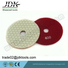 Jdk 100mm Dry Diamond Polishing Pads for Granite/Marble/Concrete