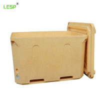1000l extra large insulated container storing fozen food bins Insulated plastic fish tub