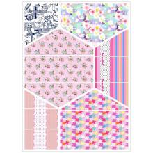 Новый дизайн с полиэстером хорошего качества / хлопчатобумажной тканью для изготовления постельного белья