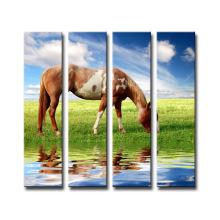 Decoração de parede Venda quente Canvas Horse Print Painting