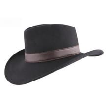 100% Шерсть Женщины Войлок Hat Большой Брим с PU Пояс (CW0001)